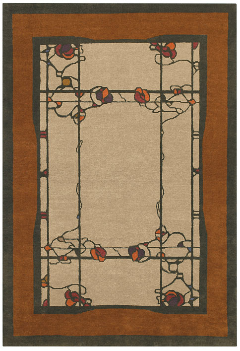 Theodore Ellison Designs Tiger Rug