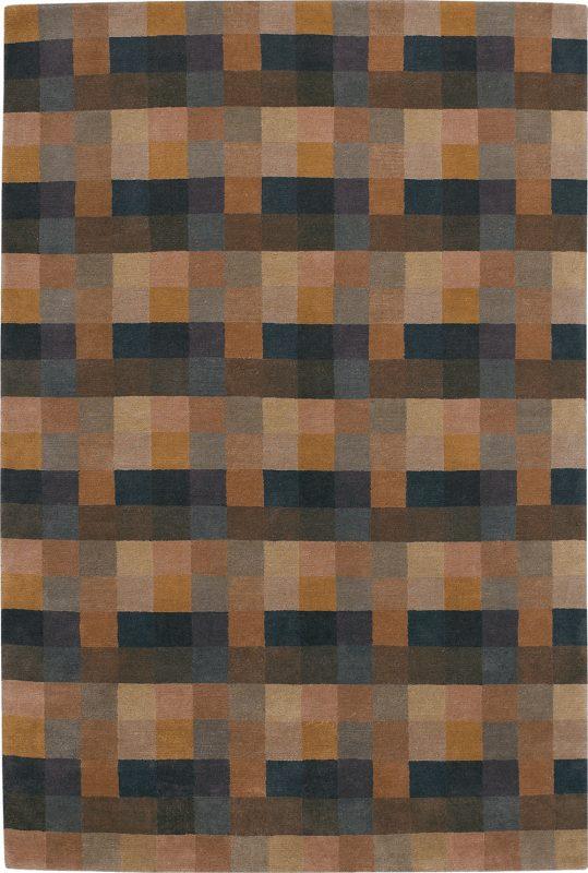 Tibetan Blocks Brown