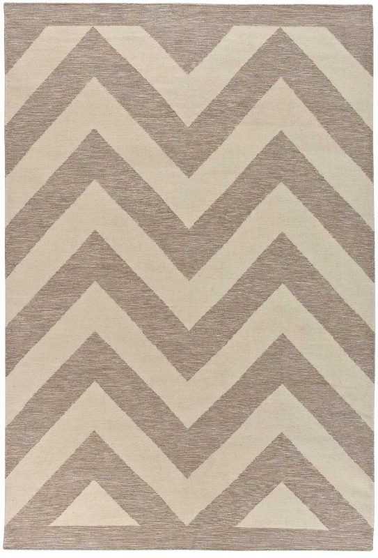 Chevron Chic Natural Heather