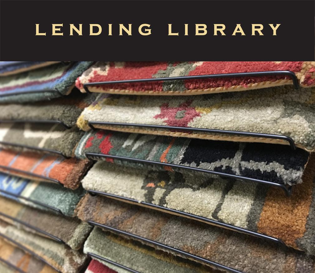 Rug lending library in Warwick, Rhode Island