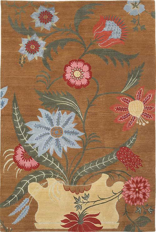 Floral Vase Umber