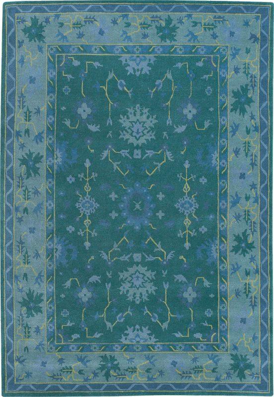 Persian Bouquet Green Blue