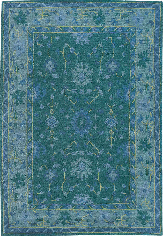 PERSIAN-BOUQUET-GREEN-BLUE-